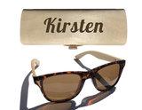 Dames zonnebril graveren_