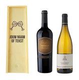 Wijnkist met wijn graveren_